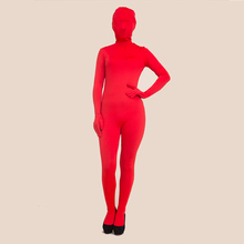 Accept customize mix colors cheap lycra red latex catsuit