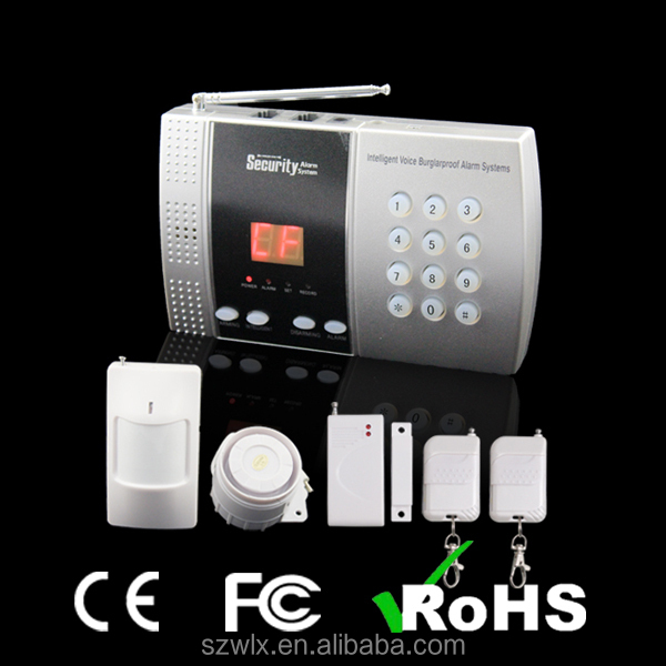 Burglar Alarm Control Panel include Full Accessories