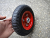 small solid rubber wheels for hand trolleys 2.50-4