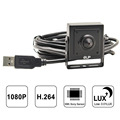 ELP Low Illumination 2MP H.264 1080P IMX322 Color Sensor Micro USB Mini Hidden Camera With Pinhole Lens