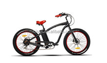 Rear-driving electric mountain bicycles moped with 36V/48V lithium battery