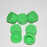 Non stick silicone dab case 6ML food grade silicone wax container for vaporizer ecig
