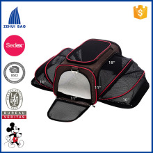 Lightweight comfortable pet travel bag dog disposable travel bag pack for cute pet cat dog carrier bag