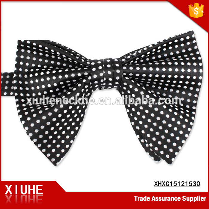 High quality women Polyester female large bow ties