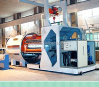 roll horizontal vacuum coating machine for paper
