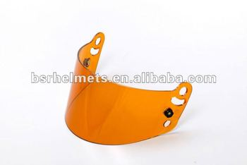 helmets parts Fire retardant PC Amber Shield