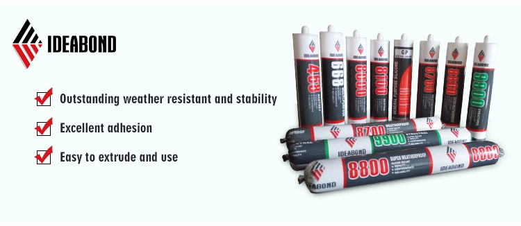 High quality construction chemical gp silicone sealant
