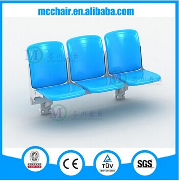 2016 Athens Wall Mounted China Stadium Chair Folding Seat/Audience Chair Arena Seating/Fixed Bleacher Stadium Chair
