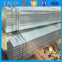 FACO GI RHS ! curved galvanized tube 1mm steel thickness galvanized rectangular tube