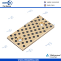 Wear Plate For Die&Mould Industry Bronze With Non-Liquid Lubricant