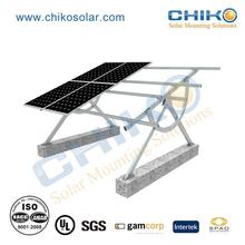 Factory price adjustable ground pv installation solar support structure
