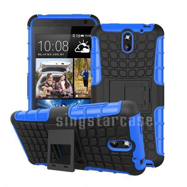 Wholesale Spider Tire Pattern Heavy Duty Shockproof Kickstand Case for HTC One M7