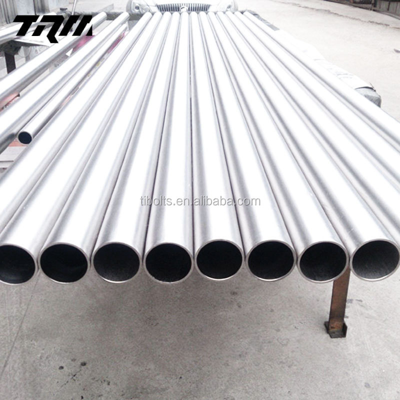 ASTM B338 3al2.5v titanium tube in stock