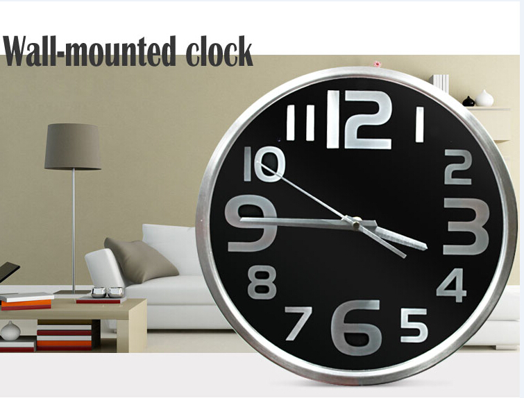 H.264 720P WIFI Wireless Wall Clock Hidden Camera with TF card remote control clock spy camera/digital cmos clock spy