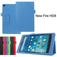 NEW Products With Pen slots function tablet cover for 2015 new kindle Fire HD 7 8.9 10 leather cases