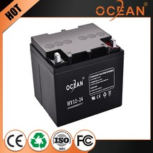 Lowest price lead plate and agm seperator maintenance free 12v 22ah battery