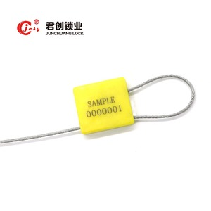 JCCS-401 High security container rfid locks yellow cable seal manufacturer