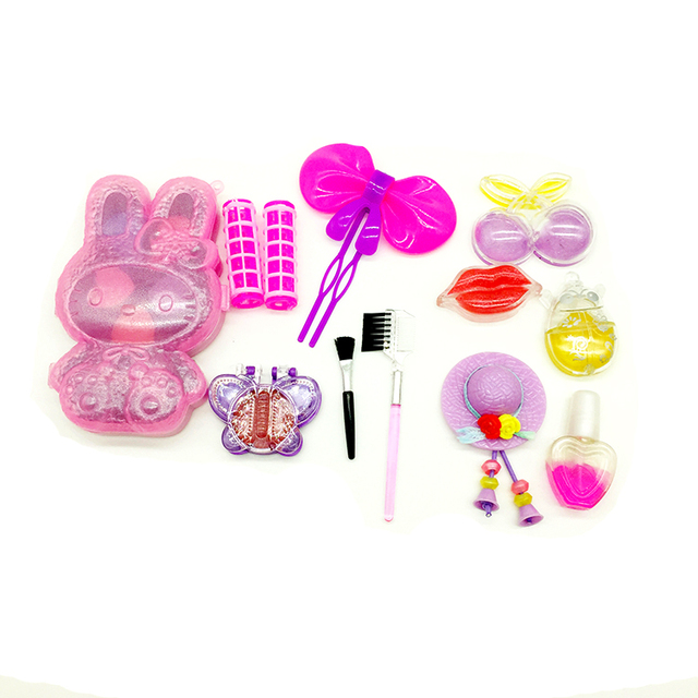 Plastic fashion child cosmetic toys