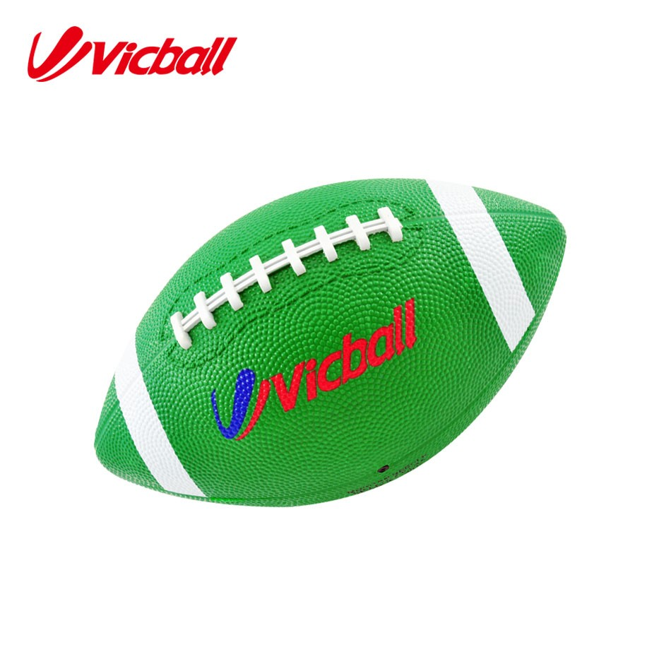 rubber American football solid rubber ball