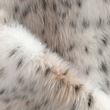 new faux fur fabric for warm coat