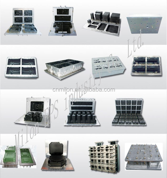 Eps icf mold insulated concrete forming foam blocks mold for Icf foam block