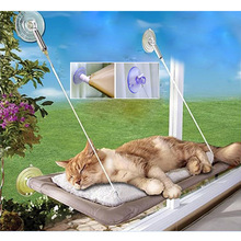 Original Design Washable Funny Pet Cat Hanger Sunny Seat Window Mounted Cat Hammock Bed For Cat