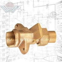 LEAD FREE Brass Conical Valve Of