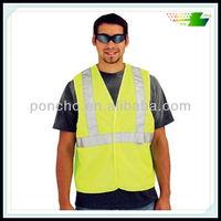 Reflective police duty safety vest 3m -high visibility
