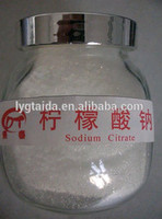 White crystal powder Sodium Citrate