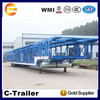 For transport car carrier enclosed small car trailer