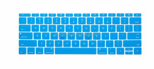 Silicone Laptops Keyboard Protector Skin For MacBook 12 inch case