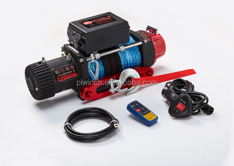 Car electric winch 12000lb for 4WD off road clubs