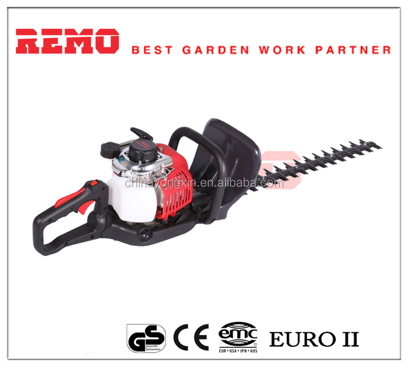 25.4cc RM-HTB26D single cylinder telescopic petrol tractor mounted hedge brush cutter