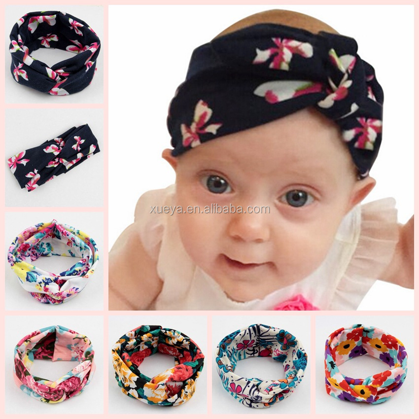 Forever kids bow floral latest hairbands