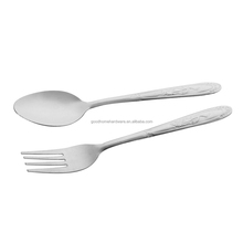 stainless steel flatware sets and fashion spoon fork set manufacture metal spork flatware