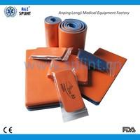 health and medical aluminum foam rolled splint