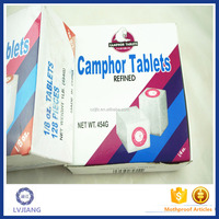 1/4OZ Hot Sale 96% Pure WALRUS Brand Solid Refined Camphor Tablets