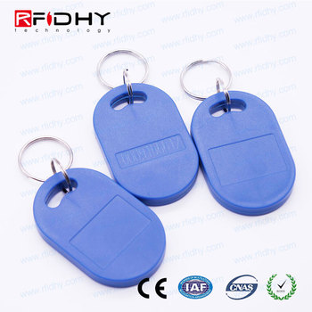 Custom Shaped Read/Write Key Fob RFID Tag 125khz