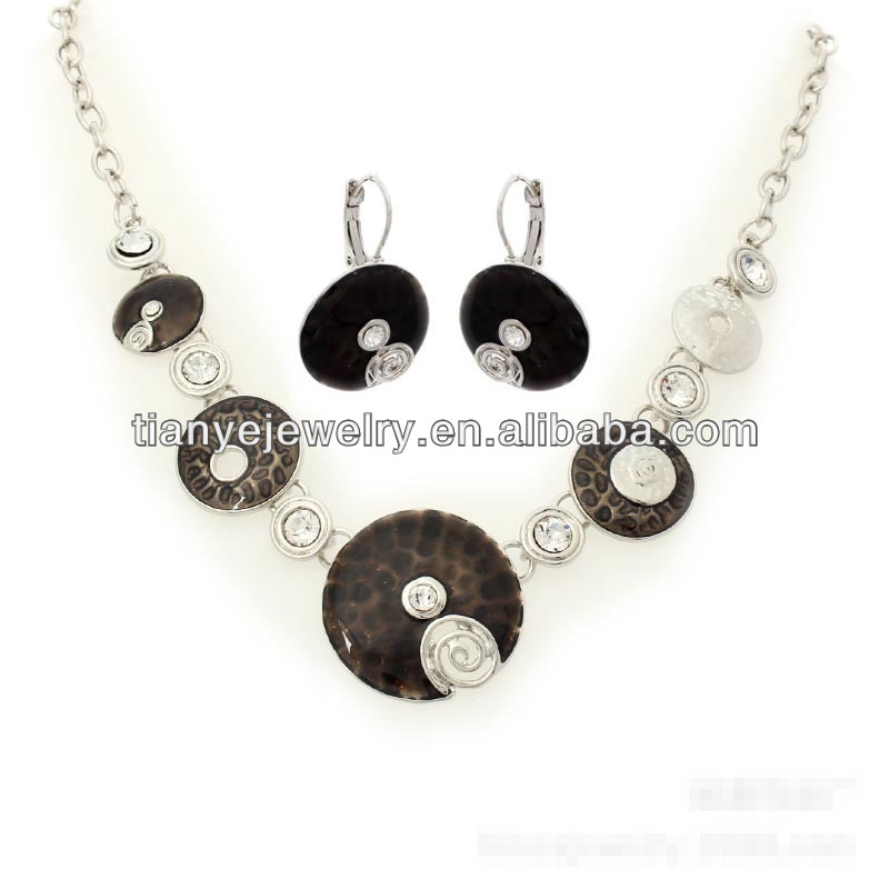 American Diamond Jewellery, American Diamond Necklace Set