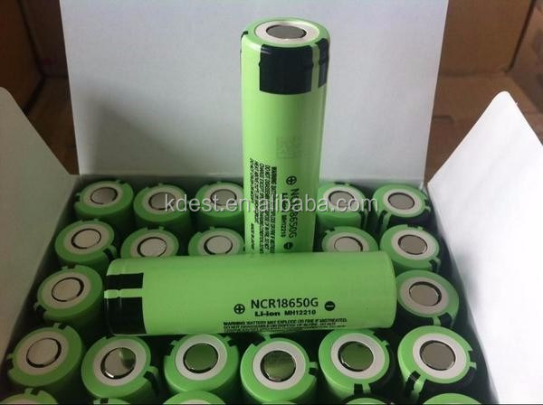 Japan Original 3.7V NCR18650G 3600mah li-ion rechargeable battery cell 18650 3600mAh NCR18650G For E-bike E-cigarette