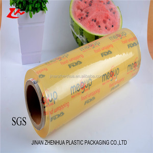 hot sale PVC cling film PE stretch film for food in kitchen