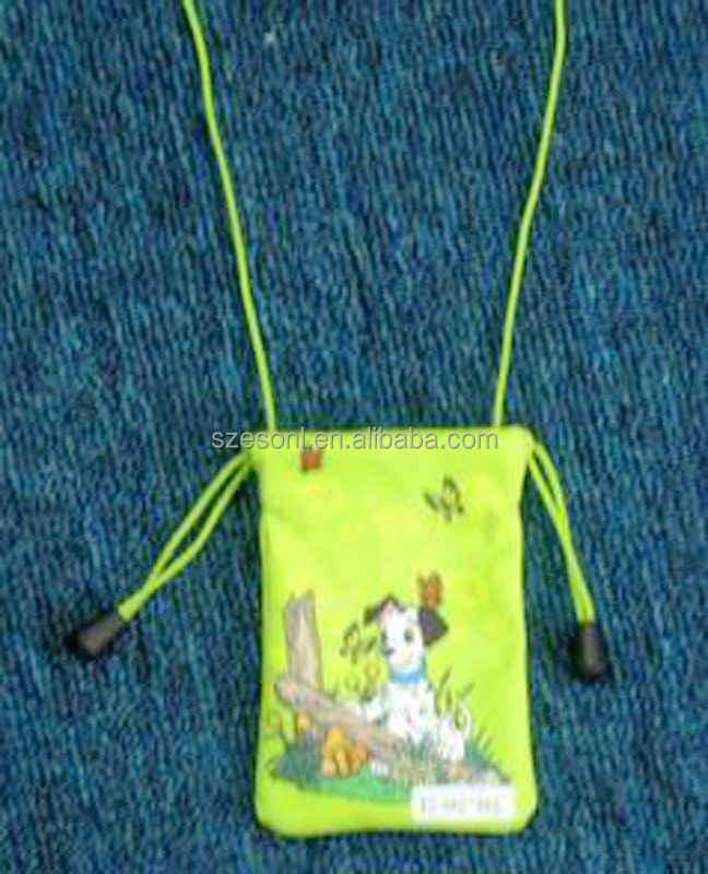 Gifts And Crafts Cell Phone Sling Bag With Drawstring