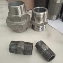 New design stainless steel pipe nipple in pipe fittings