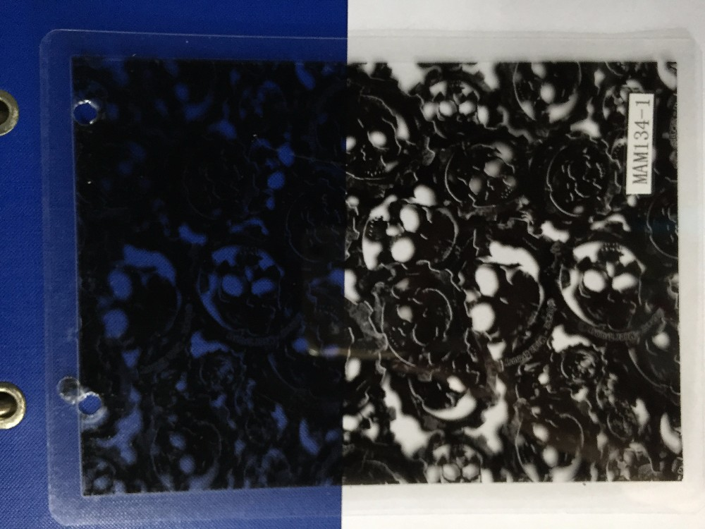 2017 new arrival vertual phantom skull parttern water transfer printing films for motorcycles