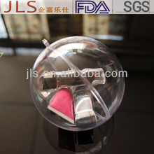 Supply Ferrero Clear plastic ball,Lipstick packaging Clear plastic ball