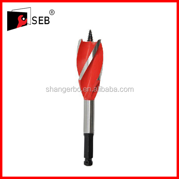 Four Flute Auger Drill Bit for wood