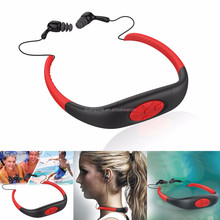Waterproof MP3 Player for Swimming Water Sports, Swimming Headset for Swimming, Sport Waterproof MP3 Player supplier