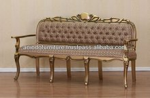 Gold Furniture - Carved Upholstered Sofa 3 Seater