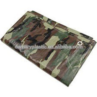 Best Prices Camouflage Plastic Sheeting Tarpaulin
