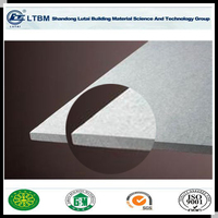 Light Weight Medium density partition Fiber Cement Board/cement flat sheet